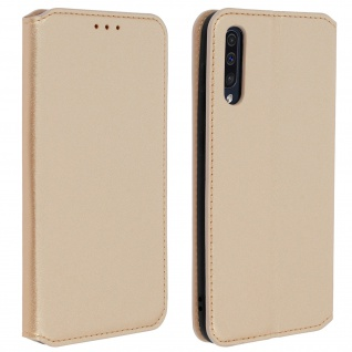 Kunstleder Cover Classic Edition Samsung Galaxy A50 - Gold