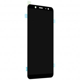 Ersatzdisplay mit Samsung Galaxy A6 kompatibel, Scheibe vormontiert - Schwarz