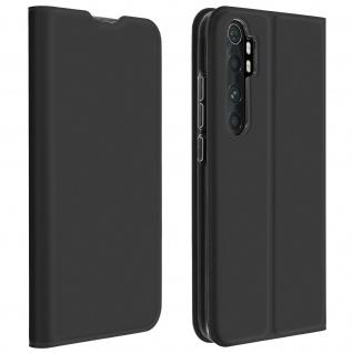 Klappetui mit Kartenfach & Standfunktion Xiaomi Mi Note 10 Lite ? Schwarz