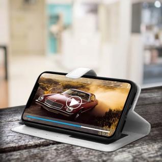 Flip Stand Cover Brieftasche & Standfunktion Apple iPhone XR - Weiß - Vorschau 5
