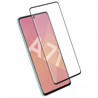 4Smarts - Schutzfolie Second Glass für Samsung Galaxy A71 - Rand Schwarz