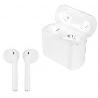 Bluetooth Kopfhörer mit klassischen Ohreinsätzen 4 Std Akkulaufzeit + Ladecase