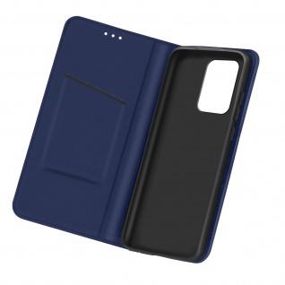 Samsung Galaxy A72 Business Etui aus Kunstleder mit Standfunktion � Dunkelblau