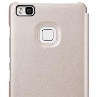 Original Huawei Flip-Cover für Huawei P9 Lite - Rosegold - Vorschau 4