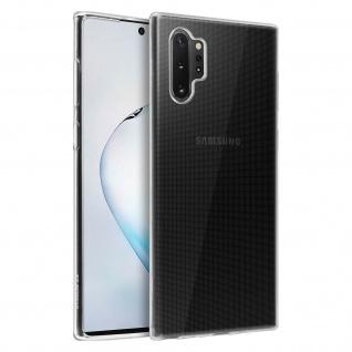 Gelhülle, Backcover für Samsung Galaxy Note 10 Plus - Transparent