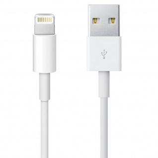 Ladekabel iPhone/iPad/ USB ? Kabellänge: 2m ? Weiß - Vorschau 3