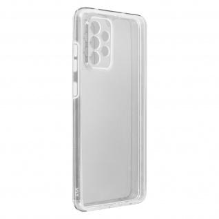 Schutzhülle für Samsung Galaxy A72, Vorder- + Rückseite ? Transparent