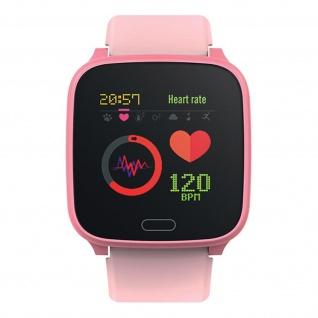 IP68 wasserdichte Kinder Smartwatch Silikon-Armband, iGO Forever � Rosa