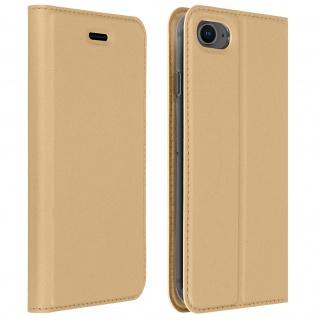 Klappetui mit Kartenfach & Standfunktion iPhone 7/8, iPhone SE 2020 ? Gold