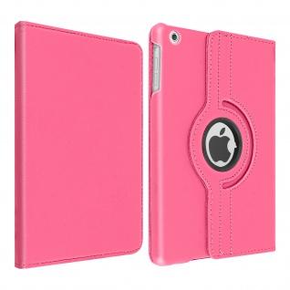 360° Klapphülle, Etui mit Standfunktion für Apple iPad Mini 1 / 2 / 3 â€? Rosa