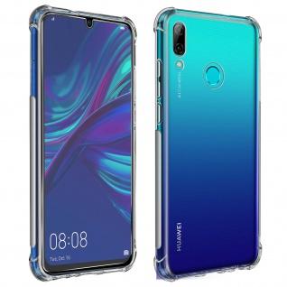 Premium Schutz-Set Huawei P Smart 2019/Honor 10 Lite Hülle + Folie - Transparent