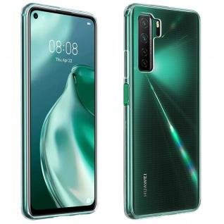 Huawei P40 Lite 5G Schutzhülle Silikon Second Skin - Transparent