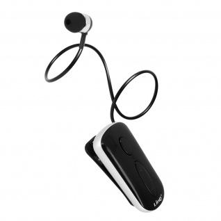LinQ K36 Bluetooth-Headset, Multipunkt Verbindung für 2 Smartphones â€? Schwarz