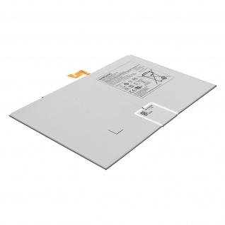 Austausch-Akku für Samsung Tab S7 Plus 12.4, 10090mAh Zusatzakku - Schwarz