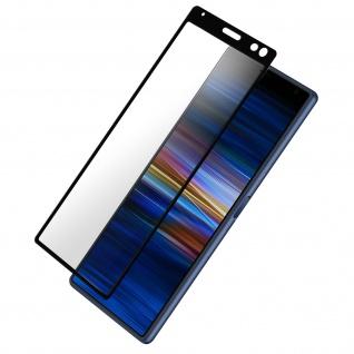 9H Härtegrad kratzfeste Glas-Displayschutzfolie Sony Xperia 10 - Schwarz