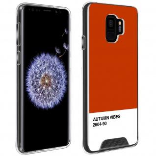 Handyhülle für Galaxy S9, Made in France ? Autumn Vibes Design