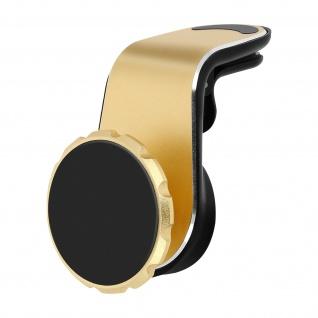 Magnetische Autohalterung, Lüftungshalterung, kompaktes Design - Gold