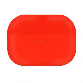 AirPods Pro Silikonhülle mit Soft-Touch Oberfläche, QI-Kompatibel - Rot