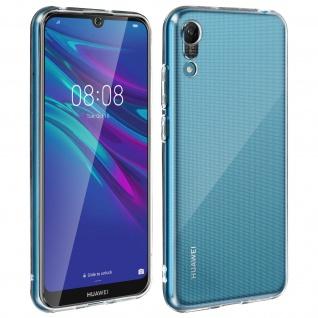 360° Protection Pack für Huawei Y6 2019: Cover+ Displayschutzfolie