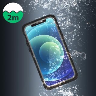 Wasserdichte IP68 Schutzhülle für Apple iPhone 12, 4Smarts - Transparent