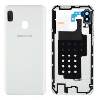 Ersatzteil Akkudeckel, neue Rückseite für Samsung Galaxy A20e - Weiß
