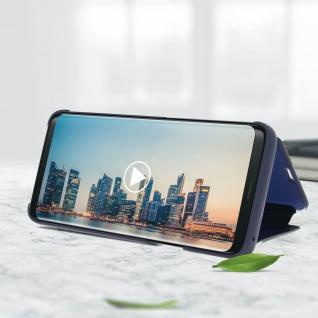 Original Samsung Clear View Standing Cover für Samsung Galaxy S9 - Blau - Vorschau 5