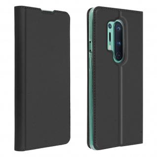 Klappetui mit Kartenfach & Standfunktion OnePlus 8 Pro - Schwarz