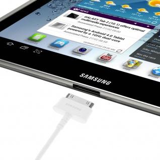 Original Samsung ECC1DP0U USB Ladekabel für Samsung Tablets - Weiß - Vorschau 3