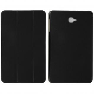 Flip-Schutzhülle für Galaxy Tab A 10.1 (2016) - Mit Standfunktion - Schwarz