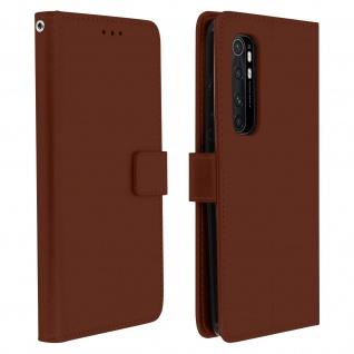 Flip Stand Case Brieftasche & Standfunktion für Xiaomi Mi Note 10 Lite ? Braun