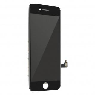 Ersatzdisplay mit Apple iPhone 8 Plus kompatibel, Scheibe vormontiert - Schwarz