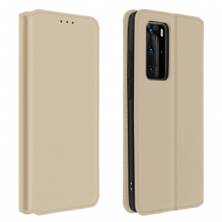 Kunstleder Cover Classic Edition Huawei P40 Pro - Gold