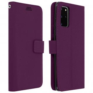 Samsung Galaxy S20 Plus Flip-Cover mit Kartenfächern & Standfunktion - Violett