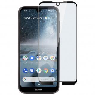 9H Härtegrad kratzfeste Glas-Displayschutzfolie für Nokia 4.2 â€? Schwarz