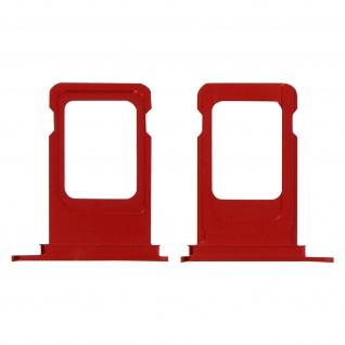 Nano SIM-Kartenhalter, Ersatzteil für Apple iPhone XR - Rot