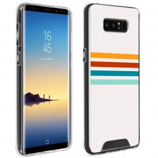 Handyhülle für Samsung Galaxy Note 8, Made in France ? Stripes Design