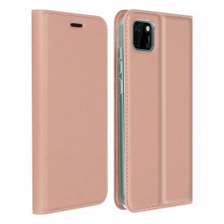 Klappetui mit Kartenfach & Standfunktion Huawei Y5p - Rosa