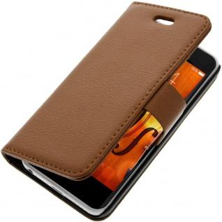 Flip-Schutzhülle mit Standfunktion für Apple iPhone 5C - Braun
