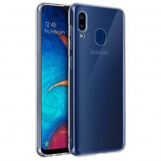 Samsung Galaxy A20 Schutzhülle Backcover Silikon by Akashi - Transparent