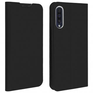 Klappetui mit Kartenfach & Standfunktion Samsung Galaxy A50 Schwarz