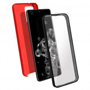 Schutzhülle für Samsung Galaxy S20 Ultra, Vorder- + Rückseite ? Rot