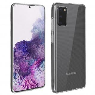 360° Protection Pack für Samsung Galaxy S20: Cover + Displayschutzfolie