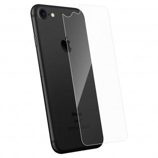Rückseite Schutzfolie Apple iPhone 7/8, 2.5D voller Schutz - Transparent
