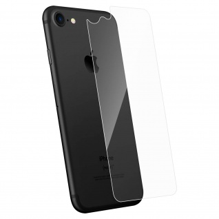 Rückseite Schutzfolie iPhone 7/8/SE 2020, 2.5D voller Schutz - Transparent