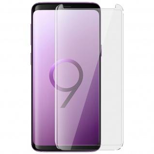 9H Displayschutzfolie aus gehärtetem Glas Samsung Galaxy S9 Plus - Transparent