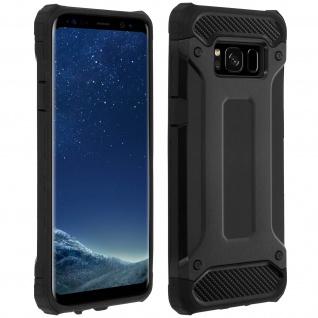 Schockresistente sturzfeste Schutzhülle (1, 80M) für Galaxy S8 Plus ? Schwarz