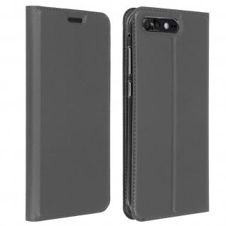 Dux Ducis Flip Cover Zenfone 4 Pro ZS551KL mit Kartenfach & Standfunktion - Grau