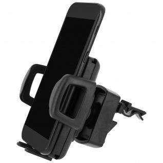 HR-imotion Universal 360° drehbare Smartphonehalterung Lüftungsgitter - Schwarz