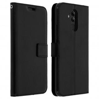Flip Stand Cover Brieftasche & Standfunktion Huawei Mate 20 lite - Schwarz