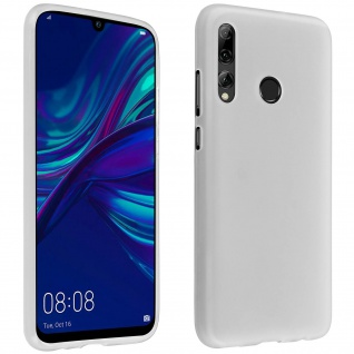 Gelhülle, flexibles Backcover Huawei P Smart Plus 2019/ P Smart 2019 - Weiß
